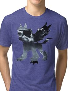 Mega Absol used Feint Attack Tri-blend T-Shirt