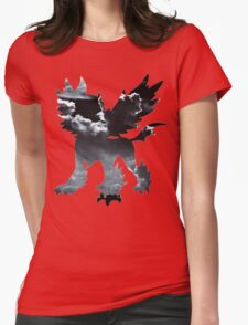 Mega Absol used Feint Attack Womens Fitted T-Shirt
