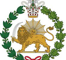 Imperial Coat of Arms of Persia (Iran), 1907-1925 by abbeyz71
