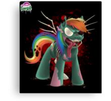 Zombie Dash - Poster Canvas Print