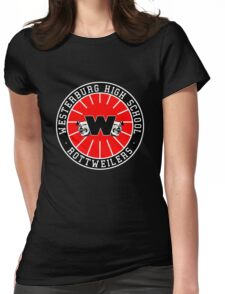 Westerburg High School Rottweilers Womens Fitted T-Shirt