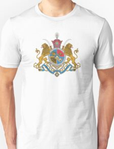Sovereign Coat of Arms of Iran (Order of Pahlavi), 1932-1979 T-Shirt