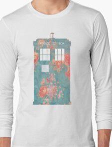 Floral TARDIS T-Shirt