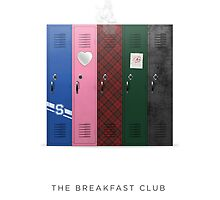 The Breakfast Club Minimalist Art by insightforty