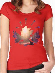 Mega Alakazam used Future Sight Women's Fitted Scoop T-Shirt