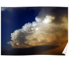 COLORFUL SKY OVER TEXAS Poster