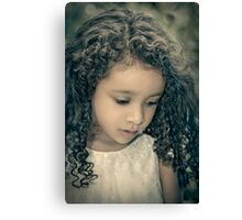 Precious Time Canvas Print