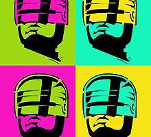 RoboCop Andy Warhol by Canadope