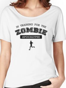 Training for the zombie apocalypse Women's Relaxed Fit T-Shirt