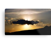©HCS Sunset Shadow IA Metal Print