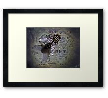 ©NS Blink Blink IA Framed Print