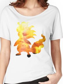 Mega Ampharos used Thunder Women's Relaxed Fit T-Shirt