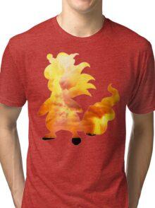 Mega Ampharos used Thunder Tri-blend T-Shirt