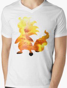Mega Ampharos used Thunder Mens V-Neck T-Shirt