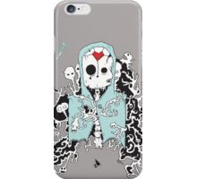 The Diseased Minds of the Dead Art Print by Joseph Nathan iPhone Case/Skin