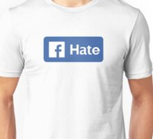 Hate Button Unisex T-Shirt