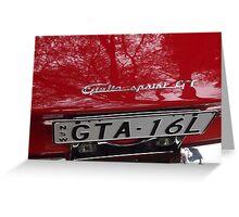 GTA Greeting Card