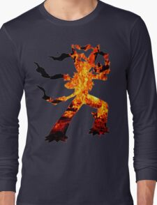 Mega Blaziken used Blast Burn Long Sleeve T-Shirt