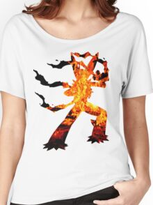 Mega Blaziken used Blast Burn Women's Relaxed Fit T-Shirt