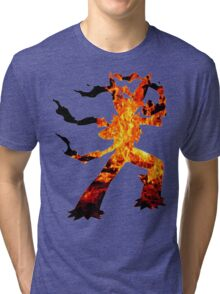 Mega Blaziken used Blast Burn Tri-blend T-Shirt