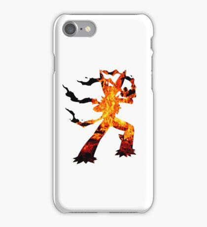 Mega Blaziken used Blast Burn iPhone Case/Skin