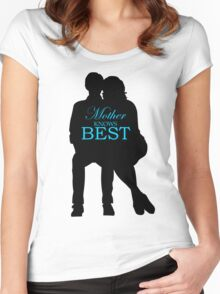 Mother Knows Best Women's Fitted Scoop T-Shirt