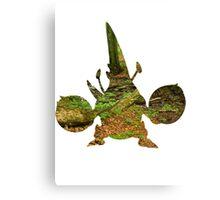 Mega Heracross used Megahorn Canvas Print