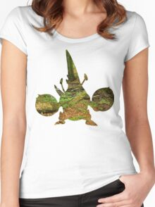 Mega Heracross used Megahorn Women's Fitted Scoop T-Shirt