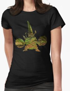 Mega Heracross used Megahorn Womens Fitted T-Shirt