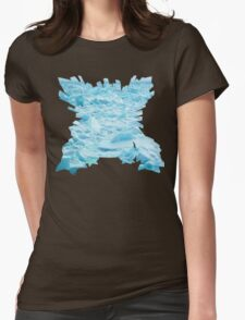 Mega Abamasnow used Blizzard Womens Fitted T-Shirt