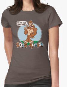 Sass Quatch Womens Fitted T-Shirt