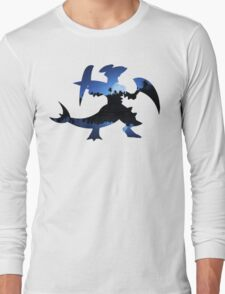 Mega Garchomp used Night Slash Long Sleeve T-Shirt