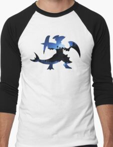 Mega Garchomp used Night Slash Men's Baseball ¾ T-Shirt