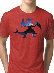 Mega Garchomp used Night Slash Tri-blend T-Shirt