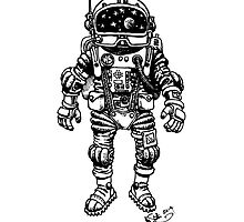 astronaut by shotton