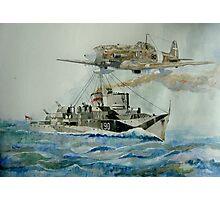 HMS Lebury Photographic Print