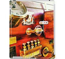 Vintage Time Travel Touring Car iPad Case/Skin