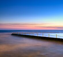 Shimmer in the Dawn by Mark  Lucey