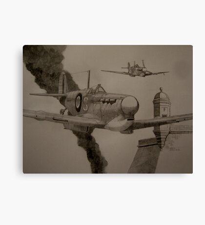 Dusk Patrol Canvas Print