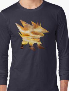 Mega Manectric Thunder Wave Long Sleeve T-Shirt