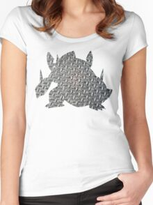 Mega Aggron used Metal Burst Women's Fitted Scoop T-Shirt