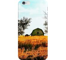 Two Apple Trees & One Barn iPhone Case/Skin