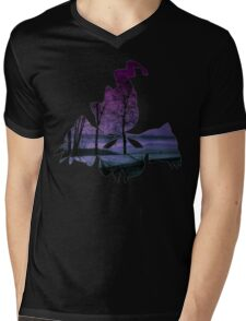Mega Banette used Night Shade Mens V-Neck T-Shirt