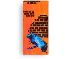 The Real Frogger Canvas Print