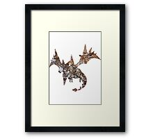 Mega Aerodactyl used Rock Slide Framed Print