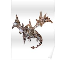 Mega Aerodactyl used Rock Slide Poster