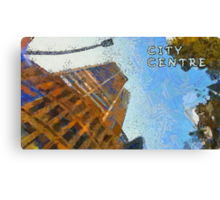 City centre Canvas Print