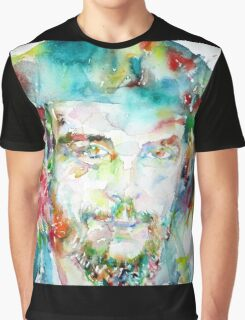 CHE GUEVARA - watercolor portrait Graphic T-Shirt