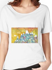 Maps and Mountains Women's Relaxed Fit T-Shirt