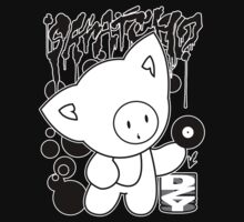 Cat Skratch Graf Kids Tee